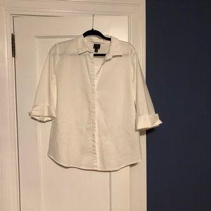 Worthington white blouse in a size XL